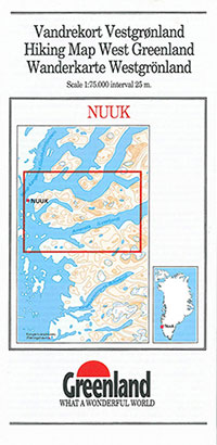 Nuuk Map West Greenland