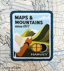 Maps & Mountains Adventure Patch