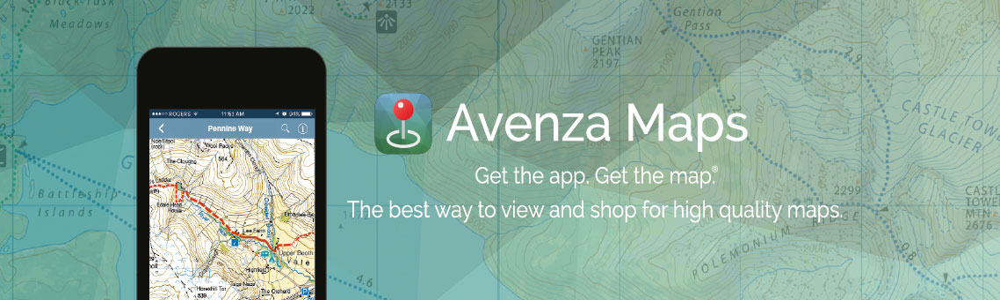 Avenza Maps app on