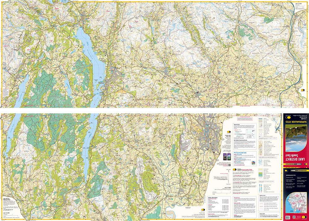 Se Colorado Map.Lakeland South East Map