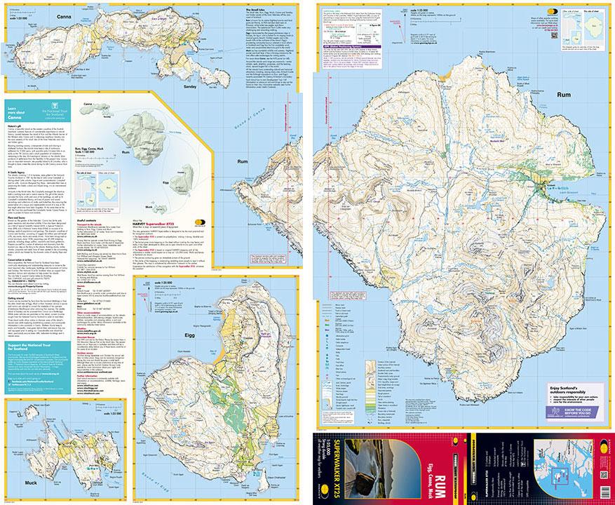 Rum Eigg Canna Muck Map