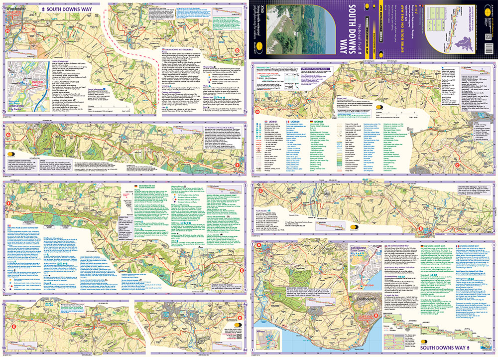 South Downs Way Map Pdf South Downs Way Map